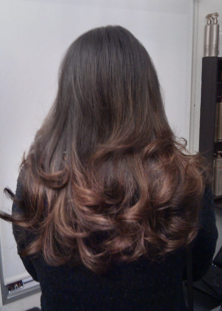 Natural Looking Balayage Ombre On Indian Hair By Guy Tang
