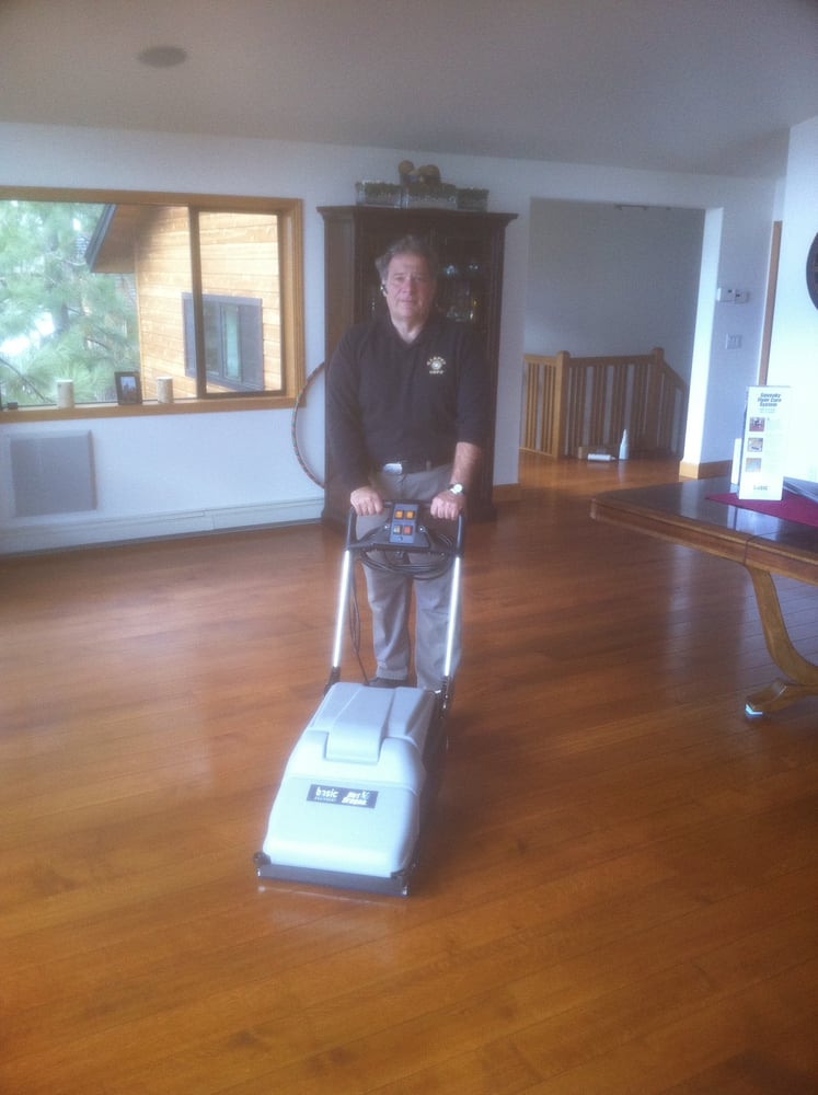 Carpet Cops Has A Commercial 3 Part Wood Floor Cleaning Process To