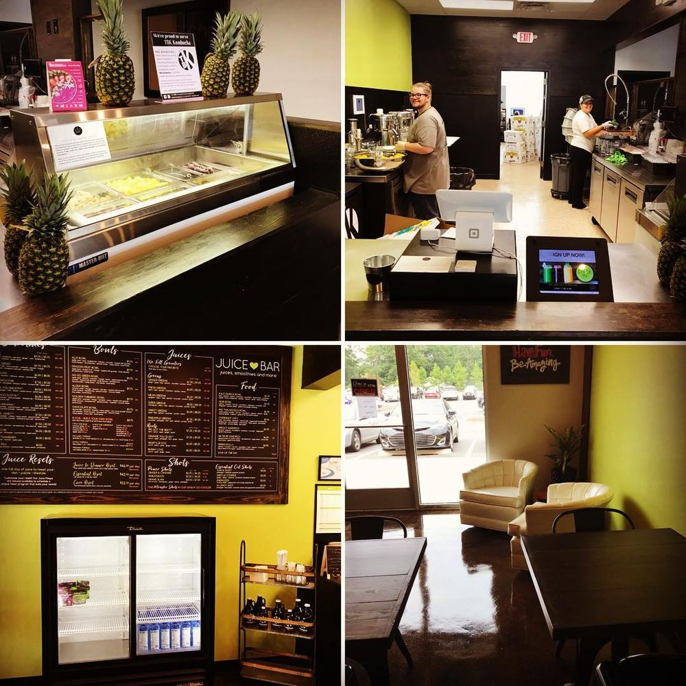 Juice Bar: 6425 Wilkinson Blvd, Belmont, NC