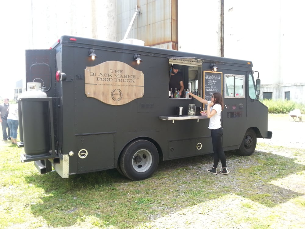 the black market food truck at silo city fleas yelp. Black Bedroom Furniture Sets. Home Design Ideas