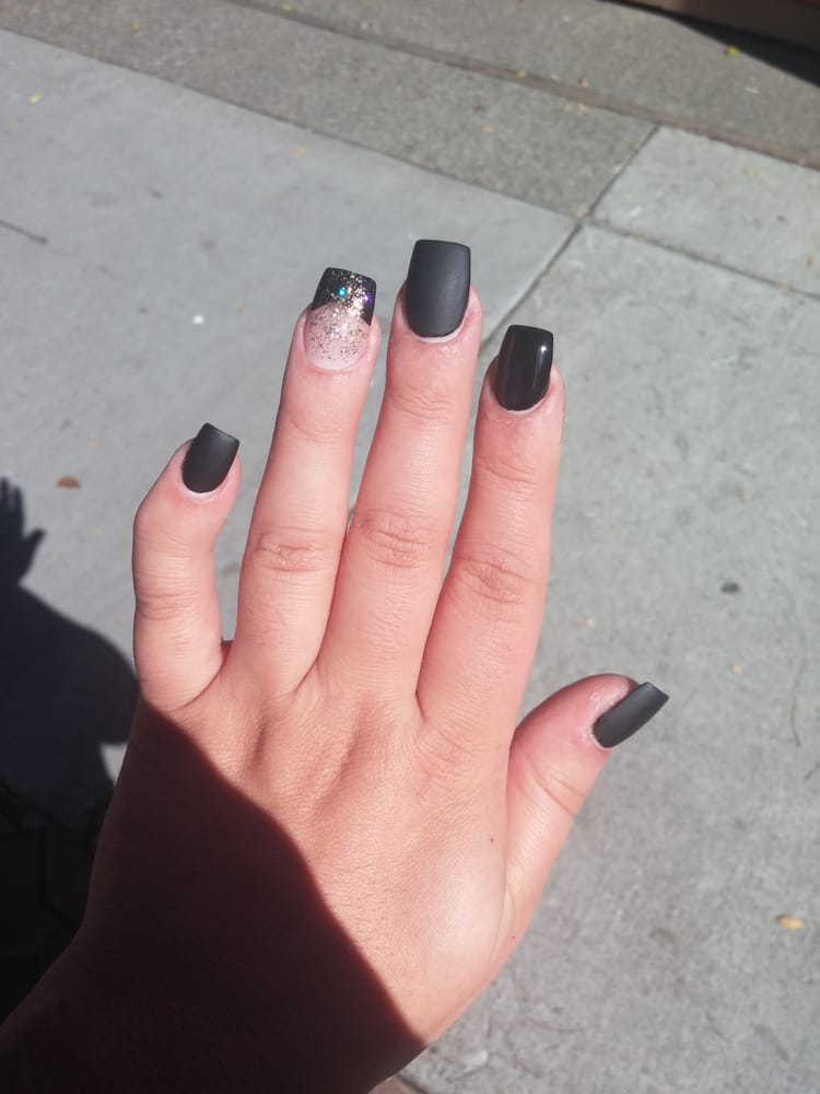 Photo Of Y2k Nails Davis Ca United States Matte Acrylic By
