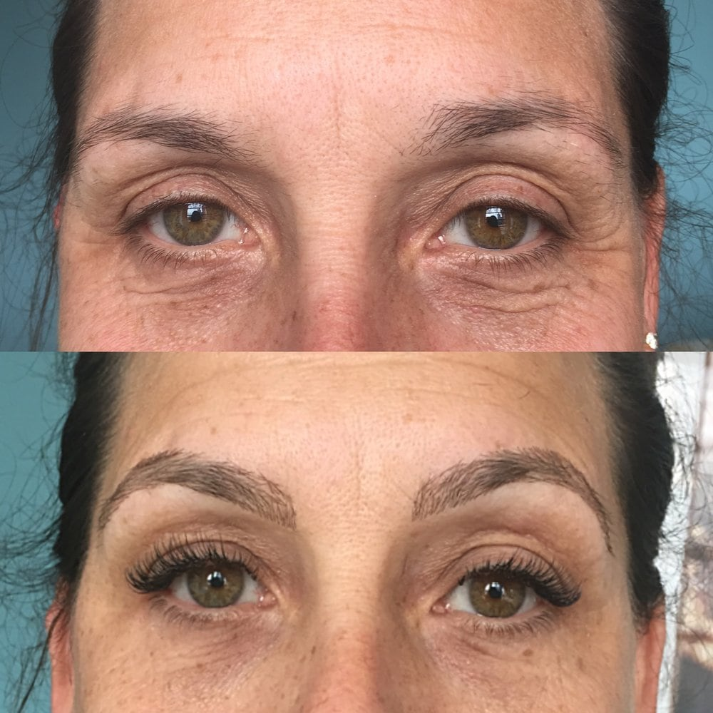 Flawless Queen Eyelash Eyebrows Extention And Nails Closed 41