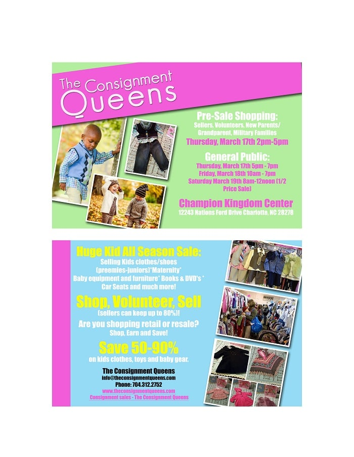 The Consignment Queens - Used Vintage  Consignment - Steele