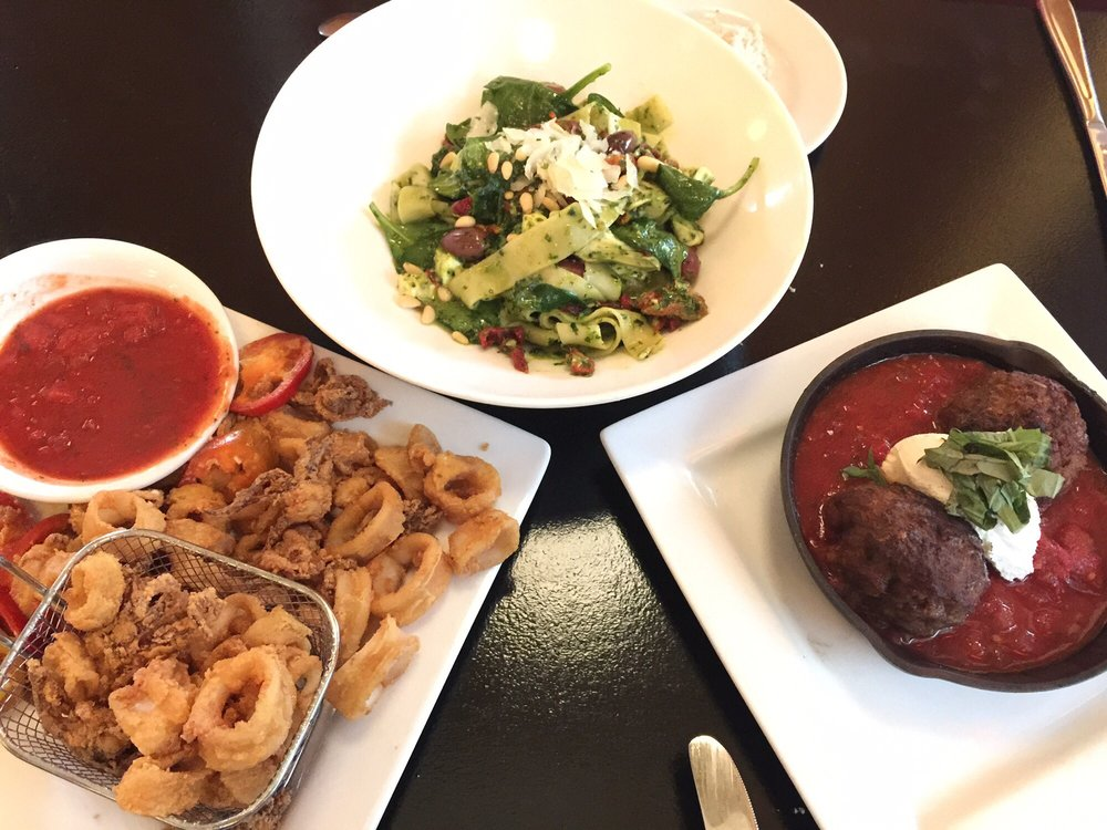 Food from Center Square Grill