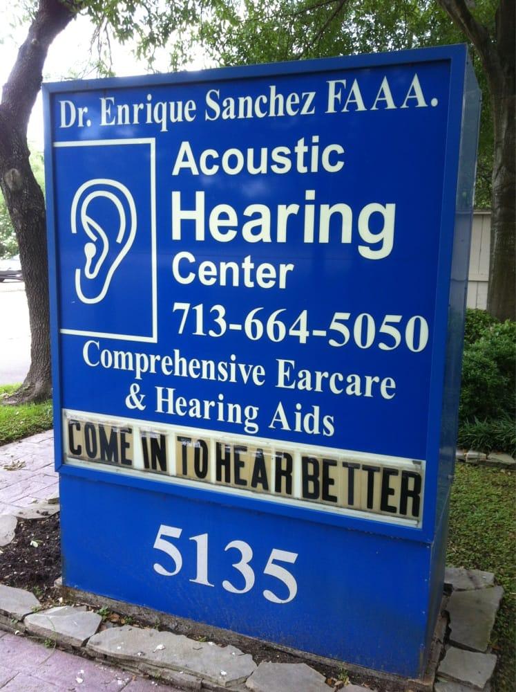 Acoustic Hearing Center: 5135 Edloe St, Houston, TX