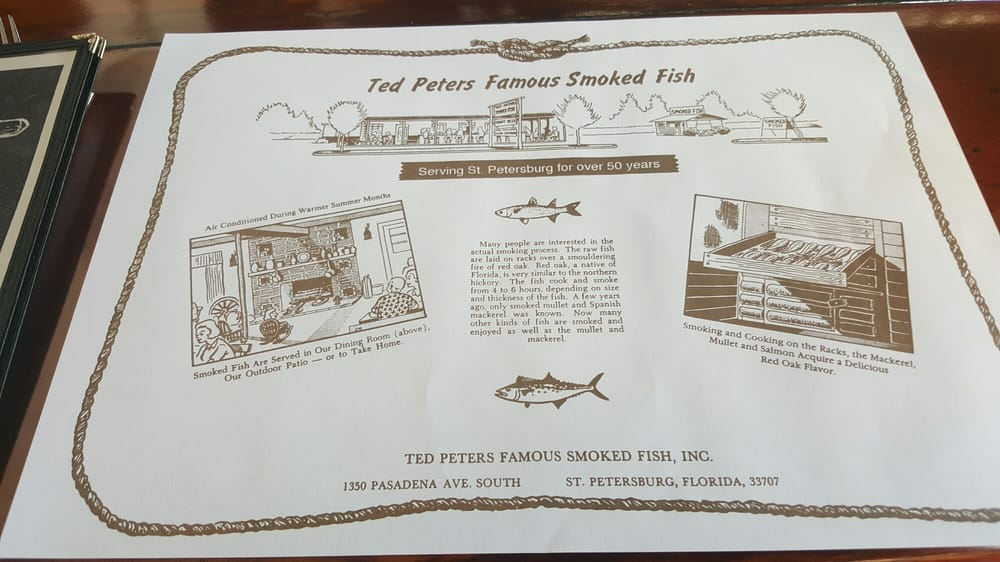 History yelp for Ted peters smoked fish