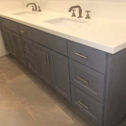 photo of olympic cabinets los angeles ca united states gray cabinets - Bathroom Cabinets Los Angeles Ca