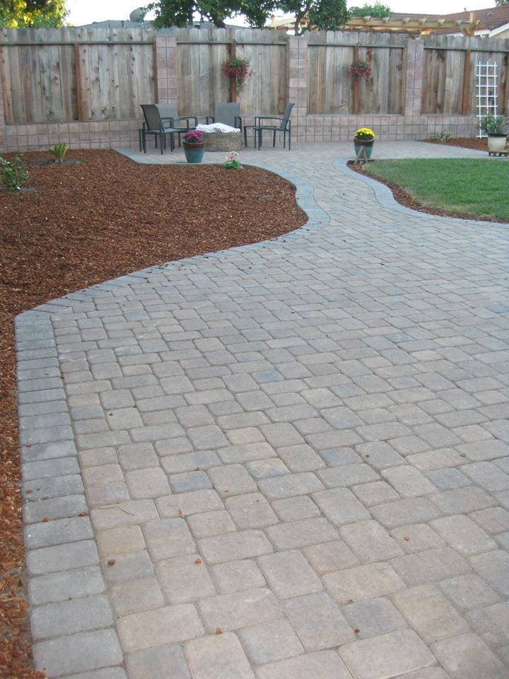 Photo Of Black Diamond Paver Stones U0026 Landscape   San Jose, CA, United  States