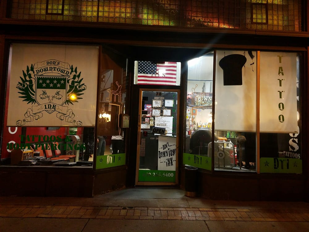 Don's Downtown Ink: 78 S Broadway, Aurora, IL
