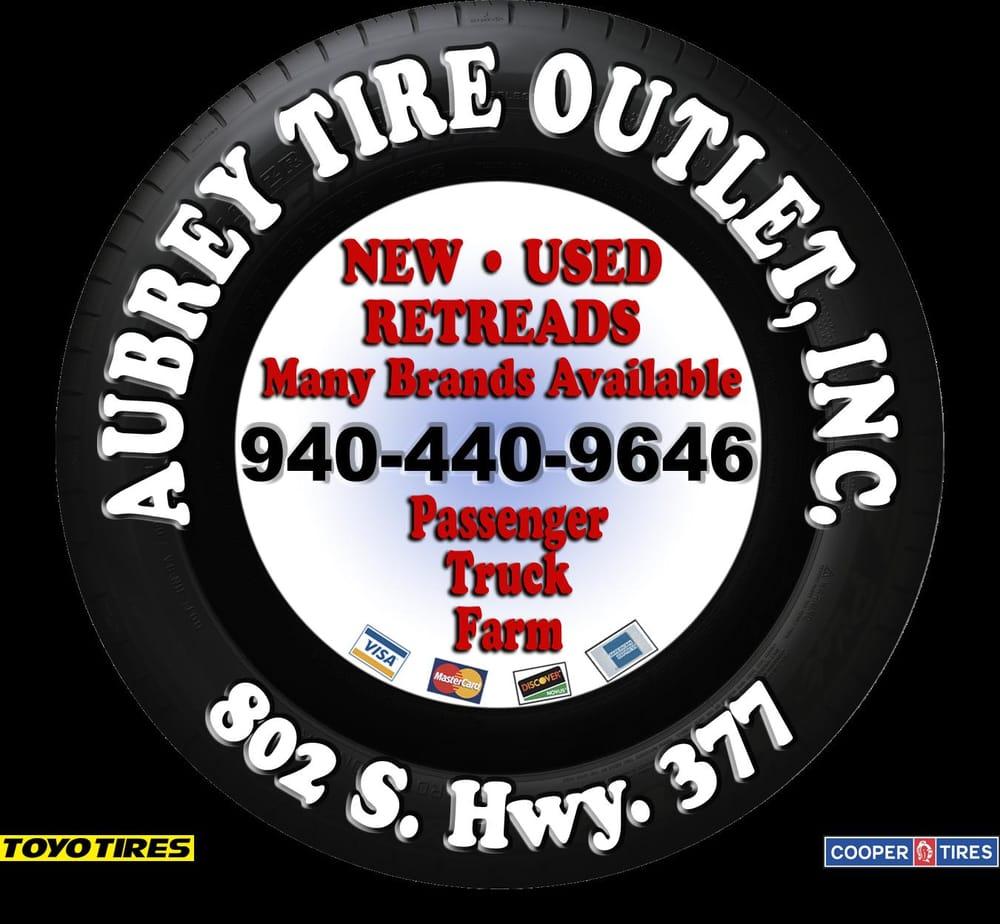 Aubrey Tire Outlet: 802 S Hwy 377, Aubrey, TX