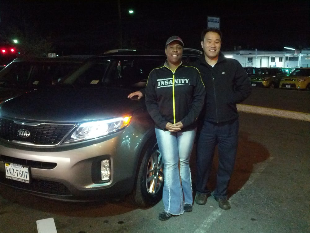 Fairfax Kia Just Purchased My New 2014 Sorento From A Great Sales