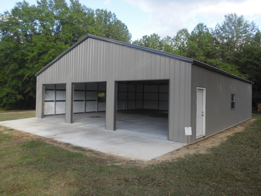 40x45 Large Steel Frame Garage Yelp