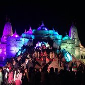 Baps shri swaminarayan mandir cultural center 619 for Annakut decoration ideas