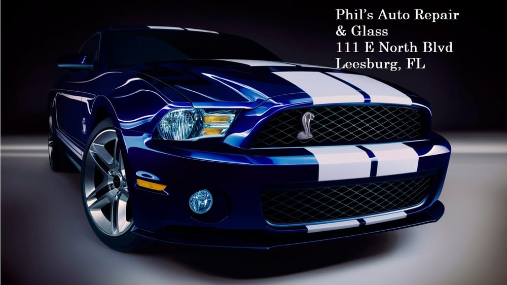 Phil's Auto Repair & Glass: 111 North Blvd W, Leesburg, FL