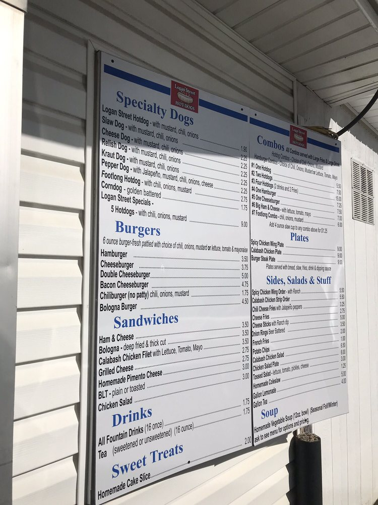 Hotdogs Logan Street: 201 S Logan St, Gaffney, SC