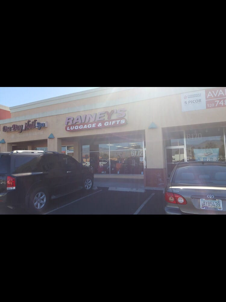 Rainey's Luggage & Gifts: 6172 E Speedway Blvd, Tucson, AZ