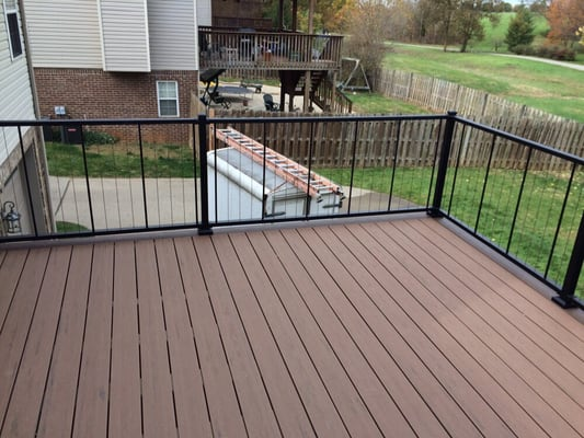 Practical trade solutions contractors 3621 niles dr Terrain decking