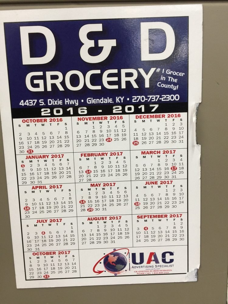 D&D Grocery: 4437 S Dixie Hwy, Glendale, KY