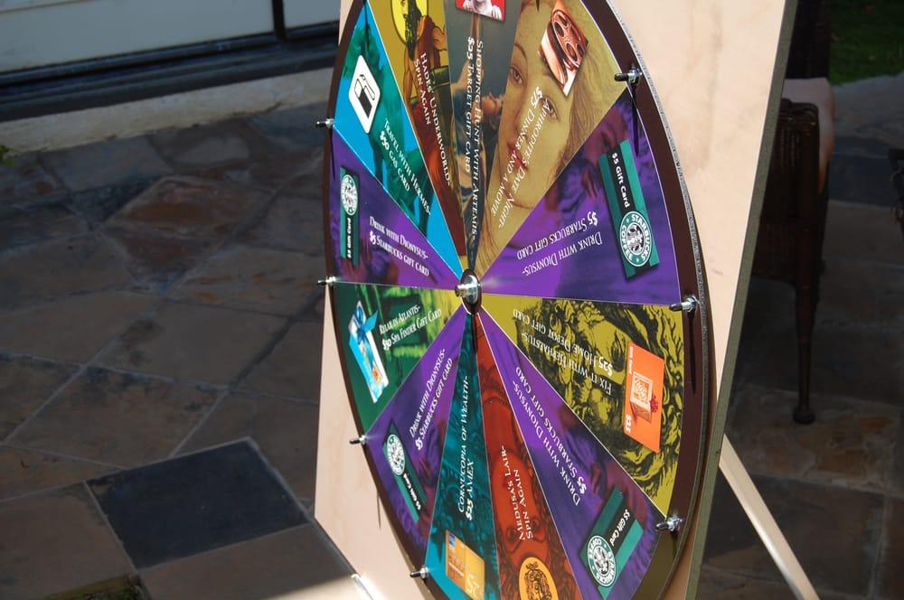 Custom Spinwheel - Yelp