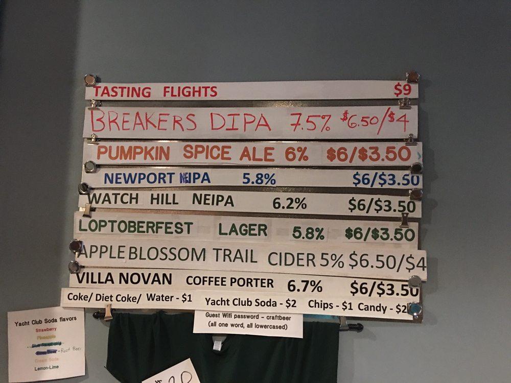 Lops Brewing: 122 N Main St, Woonsocket, RI