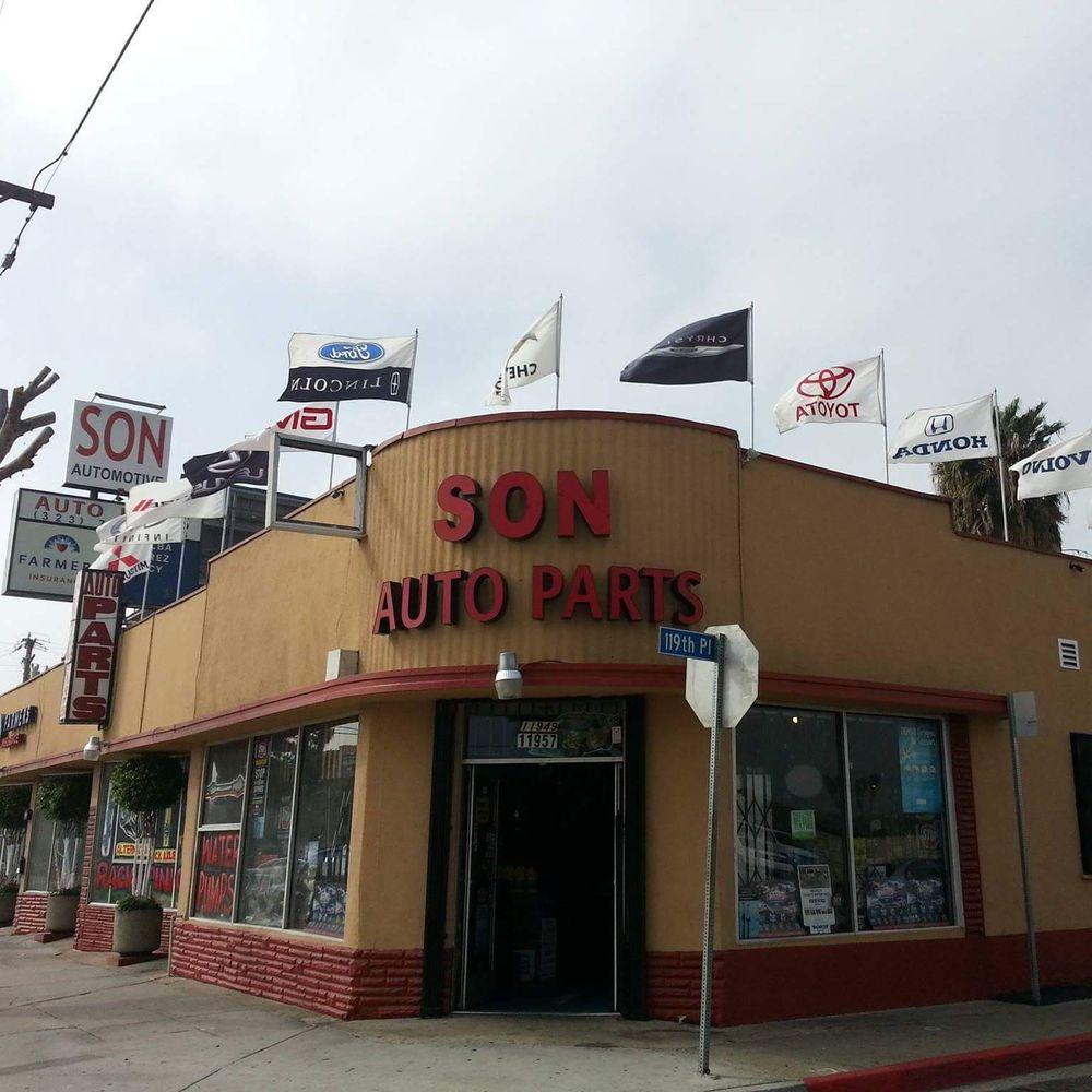 Son Auto Parts: 11957 S Vermont Ave, Los Angeles, CA