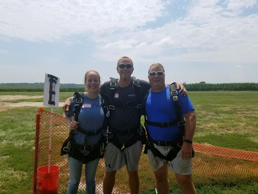 Lincoln Sport Parachute Club: 12617 Weeping Water Rd, Weeping Water, NE