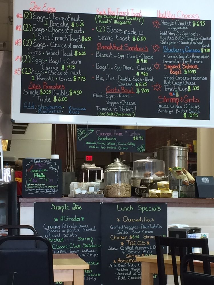 Joe S Simple Cafe Baton Rouge