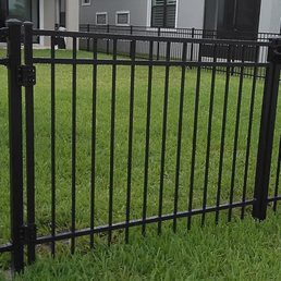 Photo of Fence & Gate Plus - Rockledge, FL, United States. Ornamental aluminum