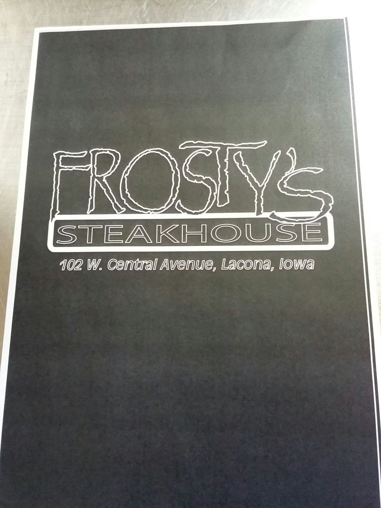 Frosty's Pub: 102 S Central Ave, Lacona, IA