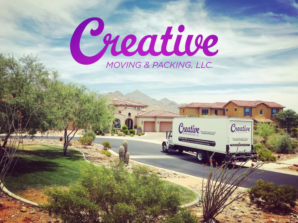 Spostamento creativo e imballaggio