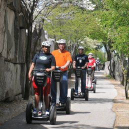 See everything that makes Indianapolis great on a Segway® Personal Transporter (PT) the most fun you can have on two wheels!Glide almost soundlessly through beautiful Indy scenery over varying terrain—and gain real world knowledge and insights into the architecture, history, and iconic sites that make our great city one that people love to visit time and time again.