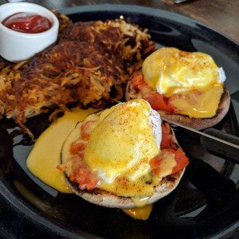 Photo Of Coastal Kitchen   Seattle, WA, United States. Smoked Salmon Eggs  Benedict
