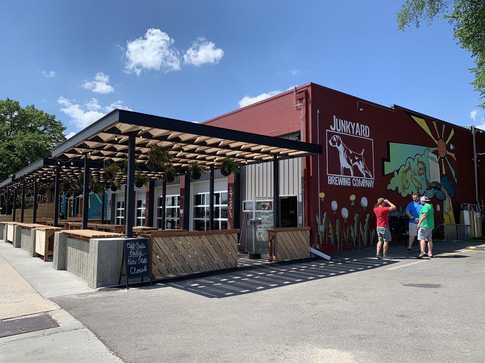 Junkyard Brewing Company: 1416 1st Ave N, Moorhead, MN