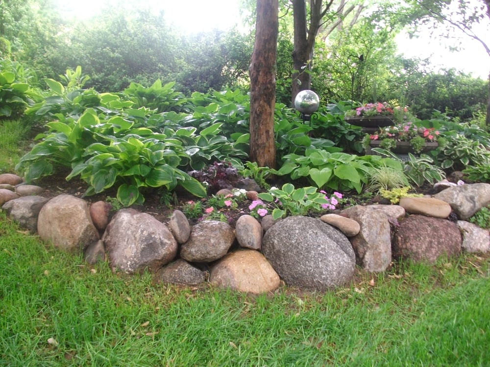 Fieldstone Walls Landscaping : Fieldstone boulder walls natural and beautiful yelp