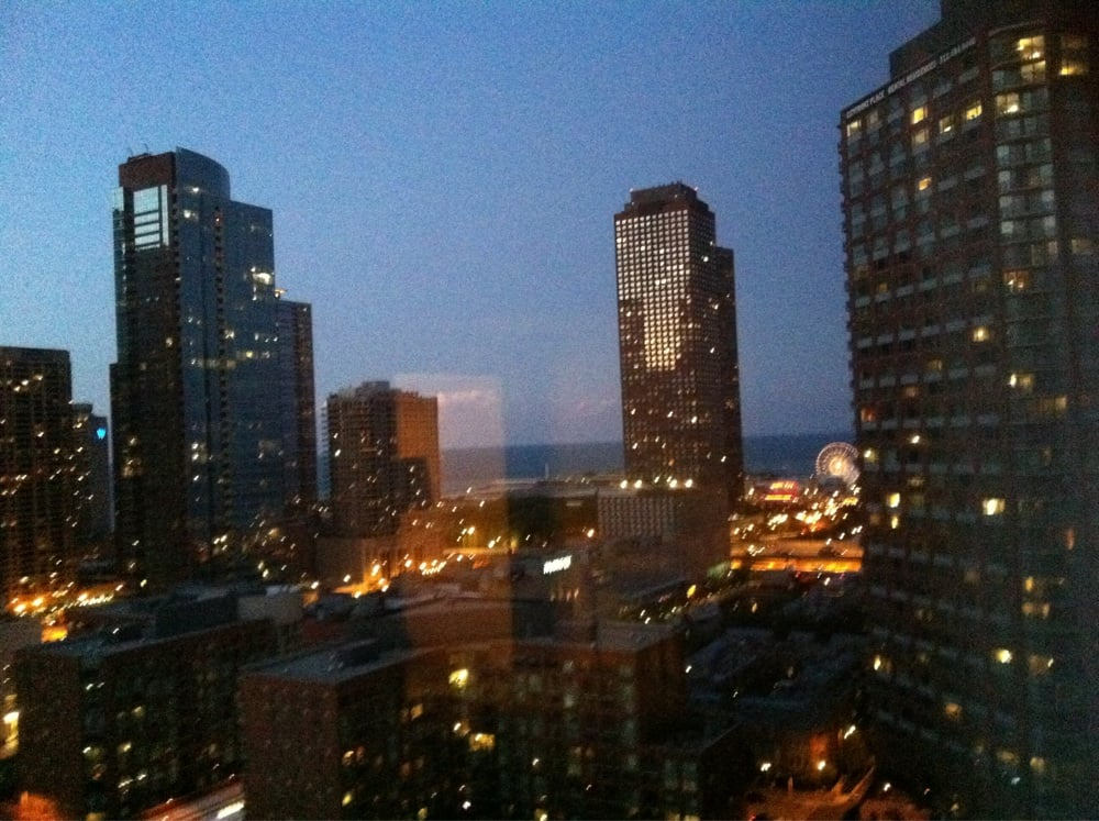 views from rooms of lake and navy pier yelp. Black Bedroom Furniture Sets. Home Design Ideas