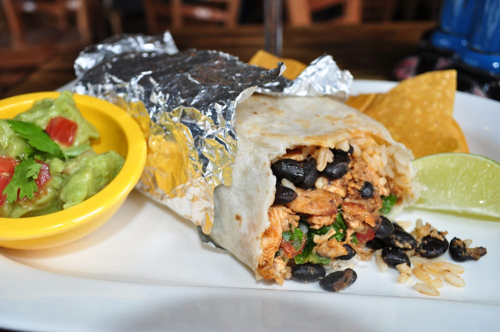 what goes in a burrito