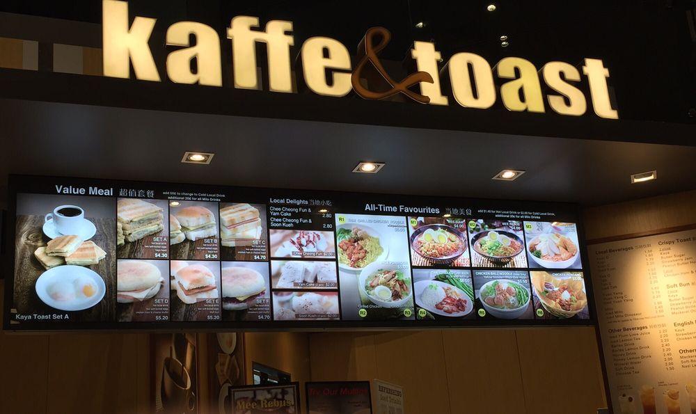 Kết quả hình ảnh cho Kaffe and Toast