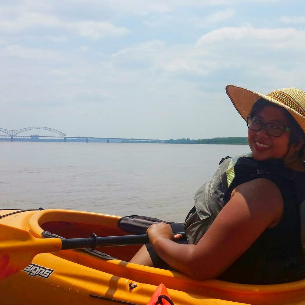 Kayaking Around Memphis Tn