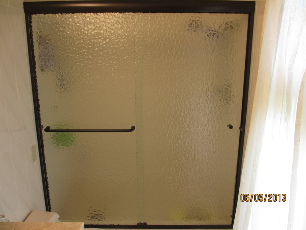 Cardinal Shower Door In Oil Rubbed Bronze Finish And