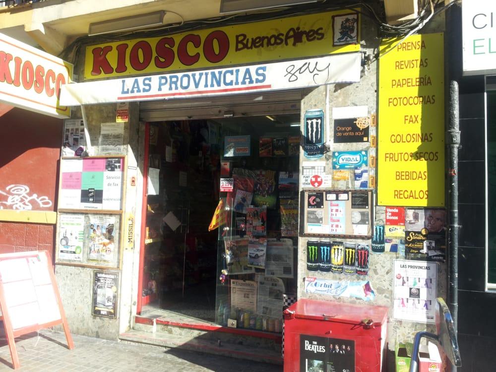 Kiosko buenos aires material de oficina doctor manuel for Material oficina valencia
