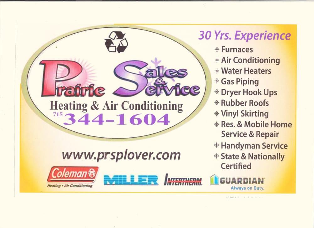 Prairie Sales & Service: 5514 Prairie Dr, Plover, WI