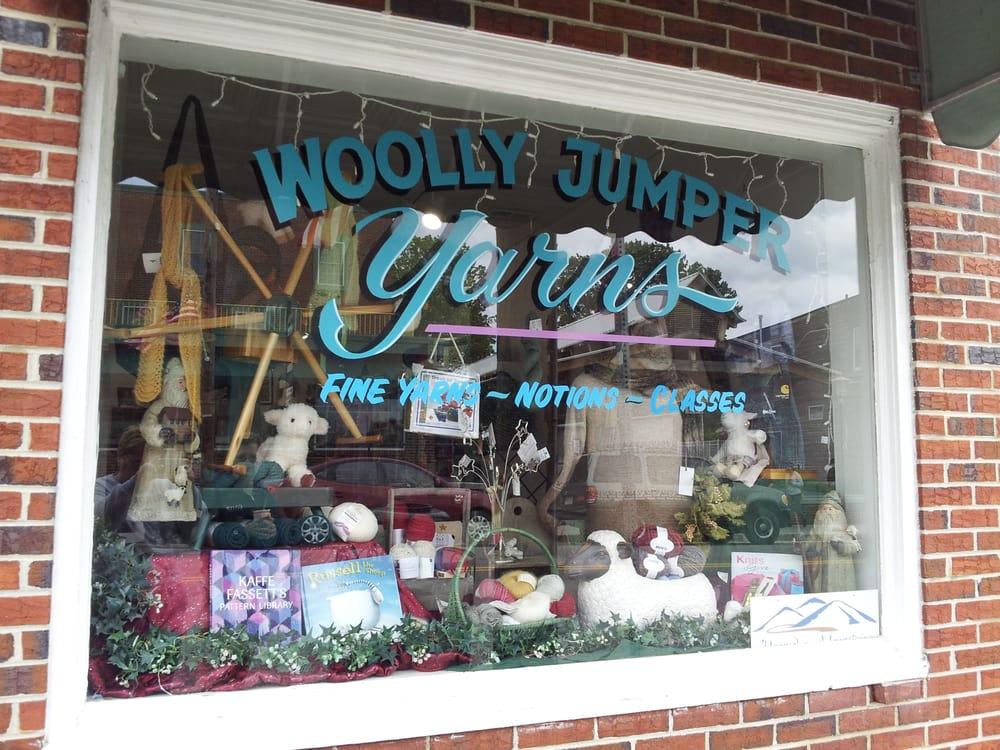 Woolly Jumper Yarns: 201 E Main St, Floyd, VA