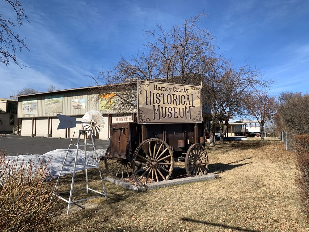 Harney County Historical Museum: 18 W D St, Burns, OR