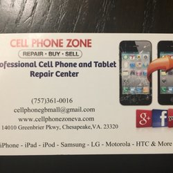 Cell phone zone chesapeake mobile phone repair 4200 portsmouth photo of cell phone zone chesapeake chesapeake va united states business card colourmoves