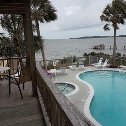 Photo Of Seahorse Landing Cedar Key Fl United States Pool And The