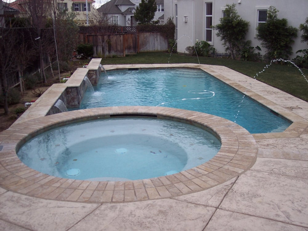 Quality crystal clear pool company pool hot tub - Crystal clear pools ...