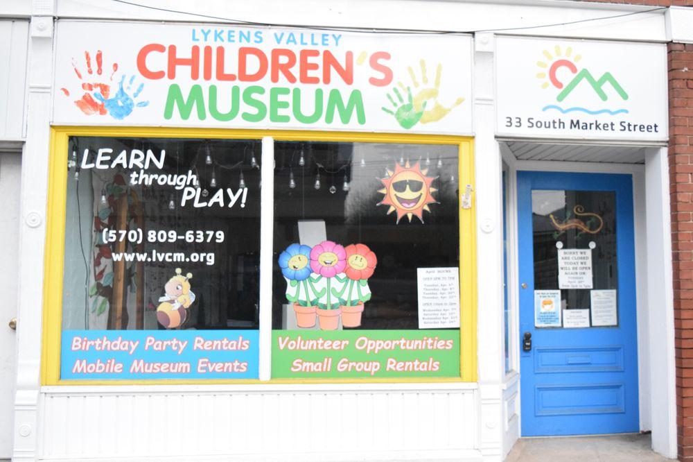 Lykens Valley Children's Museum: 33 S Market St, Elizabethville, PA