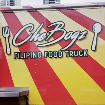 Chebogz Filipino Food Truck Menu
