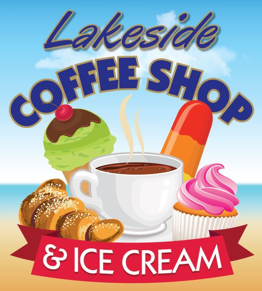 Lakeside Coffee Shop & Ice Cream: 15 N Main St, Wolfeboro, NH