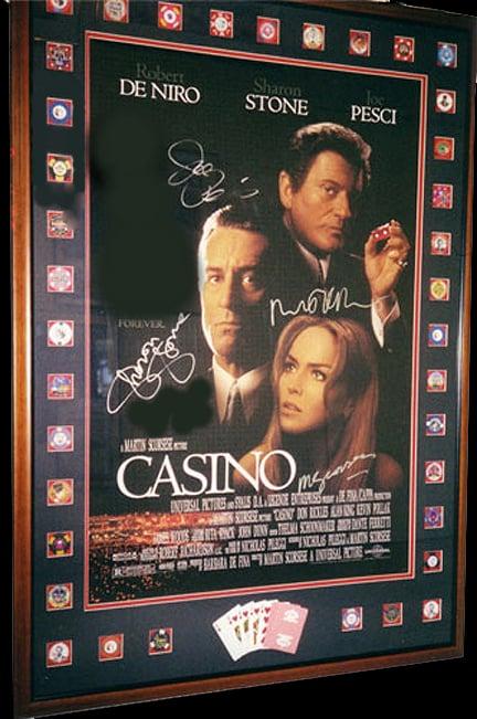 Casino movie poster signed casino moscou